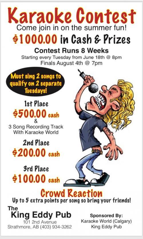 King Eddy Contest