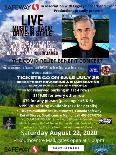 Covid Relief Benefit Concert